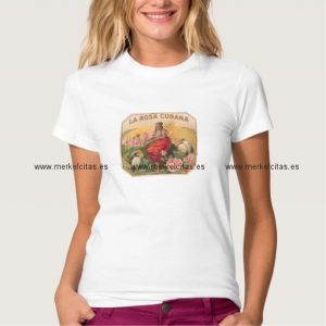 la rosa cubana camiseta vintage retrocharms