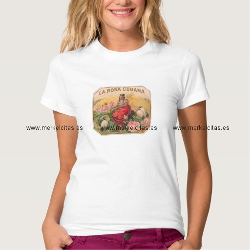 la rosa cubana camiseta vintage retrocharms