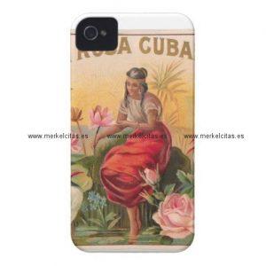 la rosa cubana diseno vintage cuba iphone 4 carcasa retrocharms