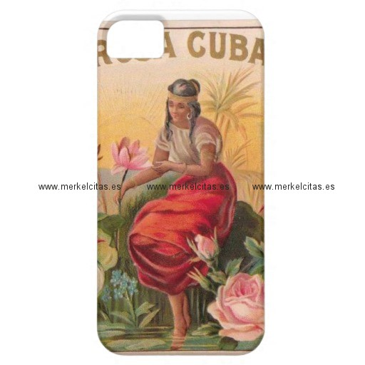 la rosa cubana diseno vintage cuba iphone 5 case mate carcasa retrocharms