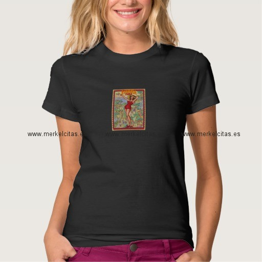 mujer havana vintage cubano la habana camiseta retrocharms