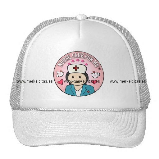 nurse care for me gifts blue and pink gorros retrocharms