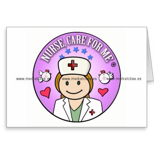 nurse care for me ginger tarjeta de felicitacion retrocharms