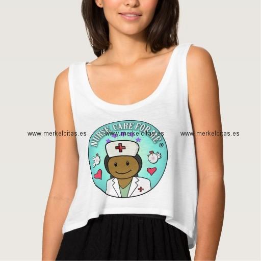 nurse gifts black nurse care for me camiseta de tirantes holgada retrocharms