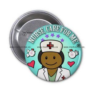 nurse gifts black nurse care for me chapa redonda 5 cm retrocharms