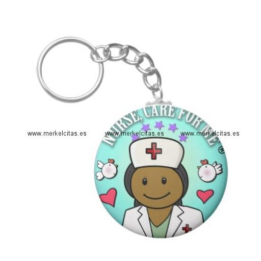 nurse gifts black nurse care for me llavero redondo tipo chapa retrocharms