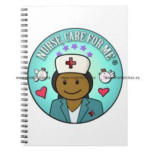 nurse gifts nurse care for me black blue libreta retrocharms