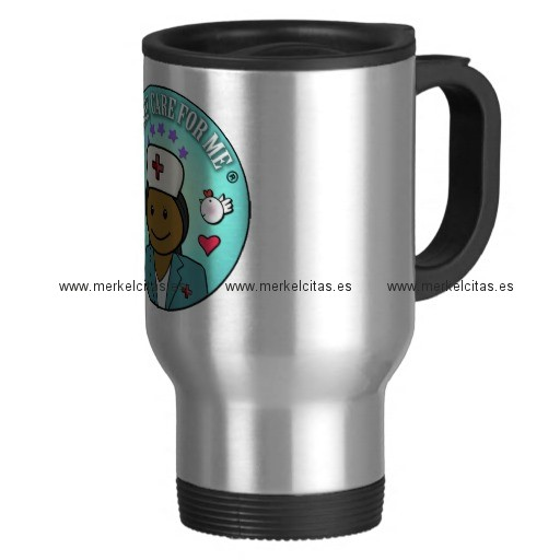 nurse gifts nurse care for me black blue taza de viaje de acero inoxidable retrocharms