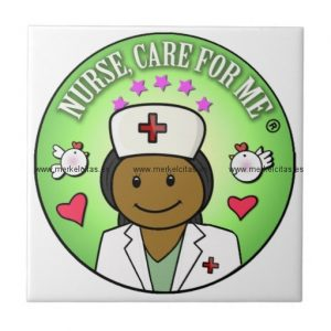 personalized gifts from nurse care for me azulejo cuadrado pequeño retrocharms