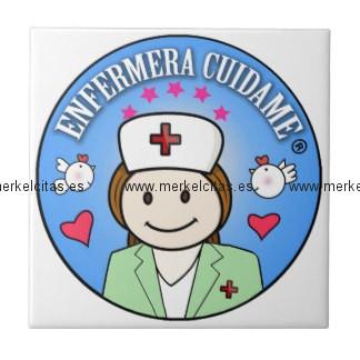 regalo para enfermera azulejo enfermeras regalos retrocharms