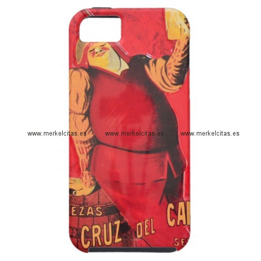 regalos anuncio cerveza vintage retrocharms iphone 5 case mate cobertura retrocharms