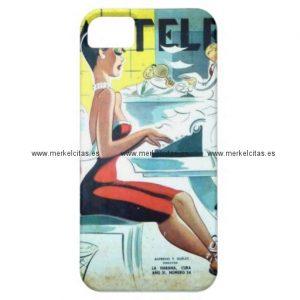 regalos cuba vintage hermosa secretaria cubana iphone 5 case mate carcasas retrocharms