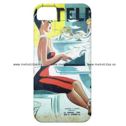 regalos cuba vintage hermosa secretaria cubana iphone 5 case mate carcasas retrocharms