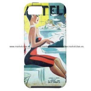 regalos cuba vintage hermosa secretaria cubana iphone 5 case mate fundas retrocharms