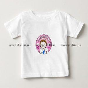 regalos doctora cuidame castana y rosa camisetas retrocharms