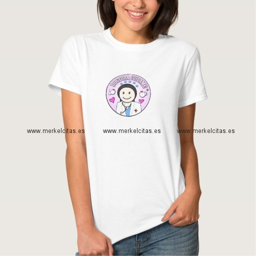 regalos doctora cuidame morena camiseta retrocharms