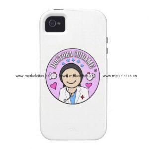 regalos doctora cuidame morena iphone 4 funda retrocharms
