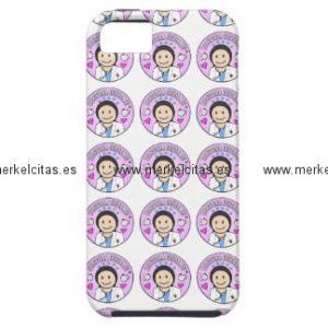 regalos doctora cuidame morena iphone 5 case mate protector retrocharms