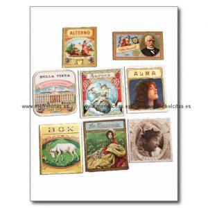 sellos cuba vintage etiquetas memorabilia postal retrocharms