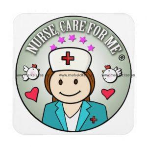 special gift for nurses posavasos retrocharms