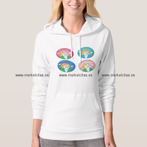 sudadera de merkelcita plis multiples colores retrocharms