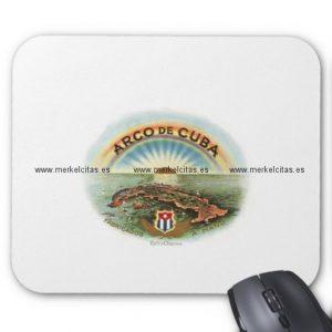 vintage cubano arco de cuba alfombrilla de raton retrocharms