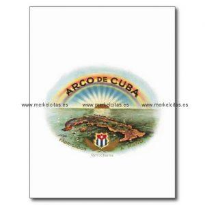 vintage cubano arco de cuba postal retrocharms