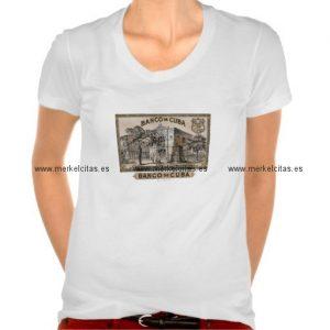 vintage cubano banco de cuba de cuba camiseta retrocharms