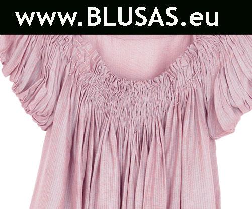 blusa color rosa