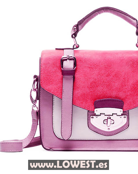 bolso moda rosa 88299919111