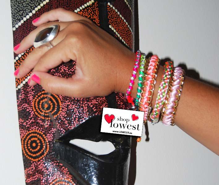 pulseras de cadena online