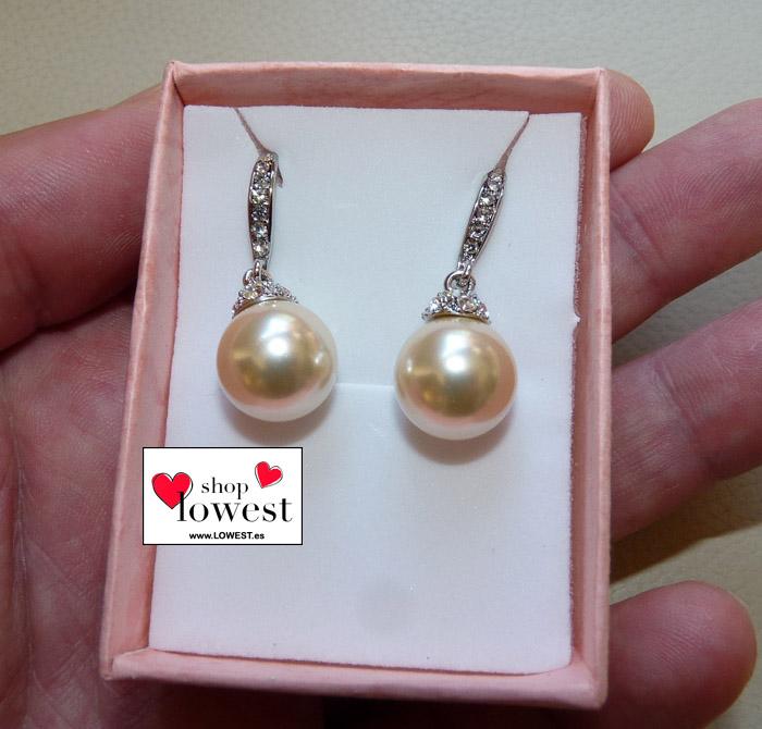 pendiendes perlas grandes lowest 0025