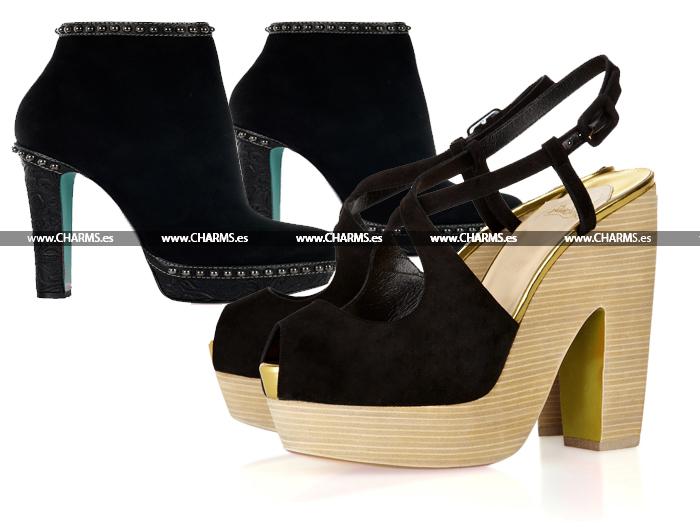 zapatos botines louboutin