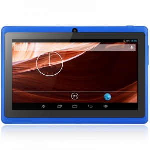 Q8 Android 4.4 Tablet PC with 7 inch WVGA Screen A23 Dual Core 1.5GHz Dual Cameras WiFi 4GB ROM