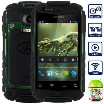 V5 Android 4.2 Smartphone with 3.5 inch HVGA Screen MTK6572 1.0GHz Dual Core 2GB ROM GPS Dual Cameras