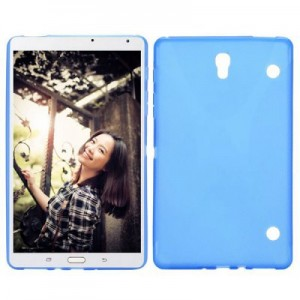 Simple Style X Shape Design Gel TPU Tablet PC Case for Samsung Galaxy Tab S 8.4 T700-T705