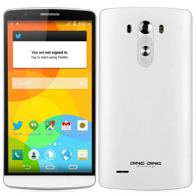 DingDing SK3 PRO MTK6582 Android 4.4 3G Phablet 5.5 inch IPS Screen