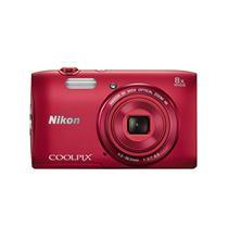 Camara Compacta Nikon Coolpix S3600 Red