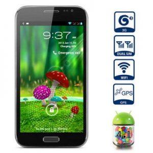 5.3 inch CXQ N7100 Android 4.1 3G Phablet MTK6577 Dual Core 1.0GHz 1GB RAM QHD Screen Dual Core 1GHz Dual SIM 12.0MP Camera