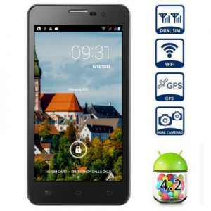 5 inch X1 Android 4.2 3G Phablet MTK6589 Quad Core 1.2GHz HD 720P Screen 8MP Camera