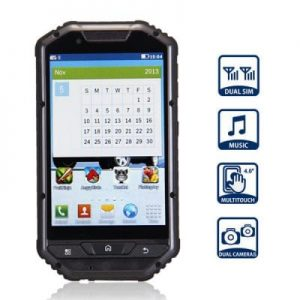 A1 4.0 inch Quad Band Cell Phone Dual Cameras Dual SIM Bluetooth Water Resistence Crash proof Dust proof Fracture proof