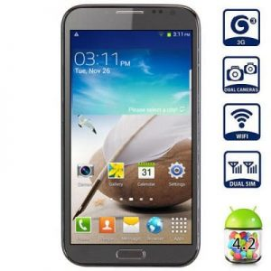 Android 4.2 7105 3G Phablet 5.5 inch QHD IPS Screen Quad Core 1.2GHz 4GB ROM 8MP Camera