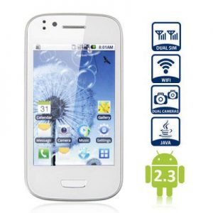 Feiteng Mini N9300 3.5 inch Quad Band Smart Phone Android 2.3 SP6820A 1.0GHz Dual SIM Capacitive Touch Screen Dual Cameras Bluetooth