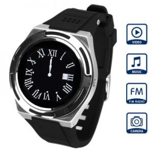 1.4 inch A8 Quad Band Watch Phone Water proof Bluetooth Camera Sporty