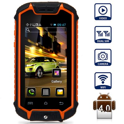 Z18 2.5 inch Android 4.0 Mini Smartphone MT6575 1.0GHz Screen Dual SIM WIFI