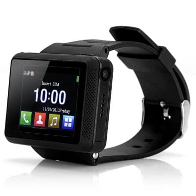 ZF007 Quad Band Unlocked Phone Watch Phone with 1.8 inch Screen Bluetooth Camera