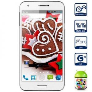 Android 4.2 BML S50 3G Smartphone MTK6572 Dual Core 1.3GHz 4GB ROM GPS With 5.0 inch WVGA Screen