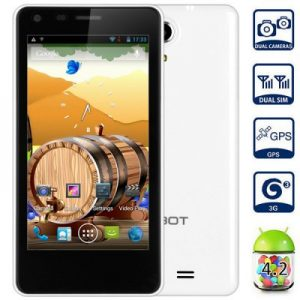 CUBOT S108 4.5 inch 3G Smartphone Android 4.2 MTK6582 1.3GHz Quad Core 4GB ROM GPS WiFi QHD Screen