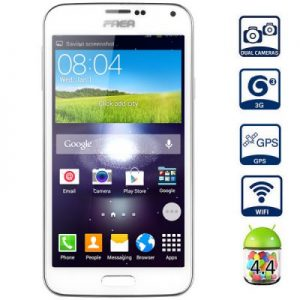 SM N9700 Android 4.4 3G Phablet with 5.0 inch WVGA Screen MTK6582 1.3GHz Quad Core 4GB ROM GPS Dual Cameras