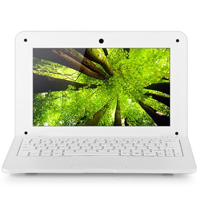 1089 Android 4.2 Netbook with 10.1 inch WSVGA WM8880 Cortex A9 Dual Core 1.5GHz 512MB 4GB WIFI Camera